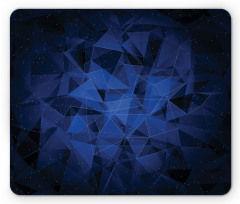 Abstract Atomic Stars Mouse Pad