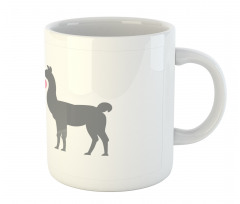 2 Animals in Love Mug