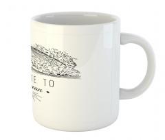 1986 Ocean Surf Waves Mug