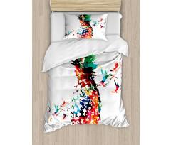 Modern Geometric Art Duvet Cover Set