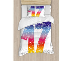 17 Party Duvet Cover Set