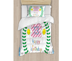13th Birthday Gifts Duvet Cover Set