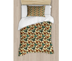 Abstract Art Wings Duvet Cover Set