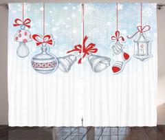 Dini Perde Noel Temalı