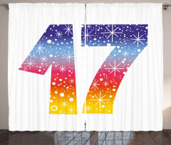 17 Party Curtain