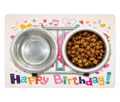 10 Years Kids Birthday Pet Mat