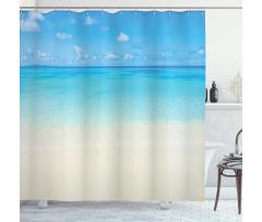 Carribean Sea Beach Shower Curtain
