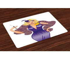1930s Style Blondie Place Mats