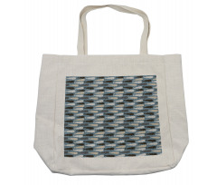 Abstract Art Silhouettes Shopping Bag