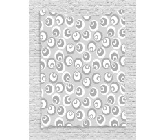 Abstract Art Modern Tapestry