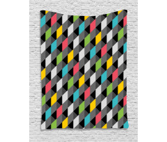 Abstract Art Style Tapestry