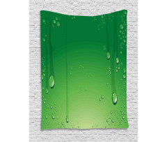 Abstract Art Water Drops Tapestry