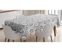Abstract Art Modern Tablecloth