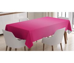 Masa Örtüsü Pembenin Coşkusu
