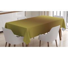 Masa Örtüsü Zeytin Yeşili Desenli