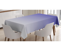 Masa Örtüsü Mavi Beyaz Desenli