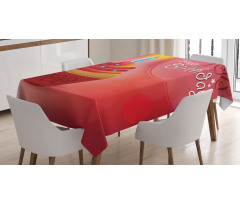 100 Old Cupcake Tablecloth