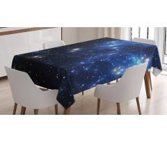 Masa Örtüsü Yıldızlar ve Uzay