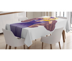 1930s Style Blondie Tablecloth