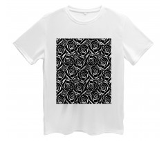 Abstract Art Rose Flowers Men's T-Shirt