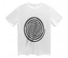 Abstract Art Spirals Men's T-Shirt