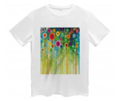 Abstract Art Dandelion Men's T-Shirt
