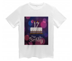 17 Party Cake Men's T-Shirt