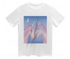 2 Akhal Teke Unicorns Men's T-Shirt
