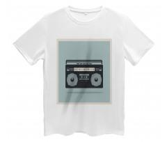 1980s Boombox Image Men's T-Shirt