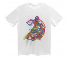 Abstract Art Dancer Men's T-Shirt
