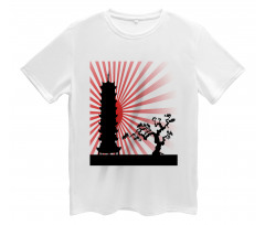 Shinto Building and Tree Men's T-Shirt