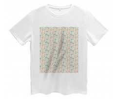 Abstract Art Floral Doodle Men's T-Shirt