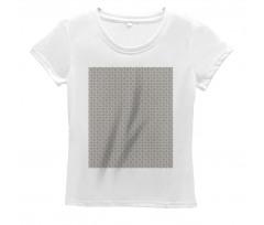 Abstract Art Grid Women's T-Shirt