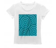 Abstract Australian Dots Women's T-Shirt