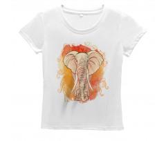 Eastern Elephant Pattern Women's T-Shirt