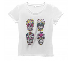 Colorful Mexican Women's T-Shirt