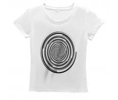 Abstract Art Spirals Women's T-Shirt