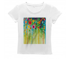 Abstract Art Dandelion Women's T-Shirt