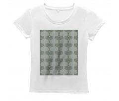 Abstract Art Floral Women's T-Shirt