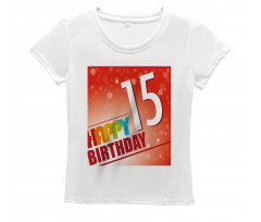 15th Birthday Concept Women's T-Shirt