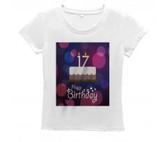 17 Party Cake Women's T-Shirt