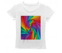Abstract Art Vivid Swirl Women's T-Shirt