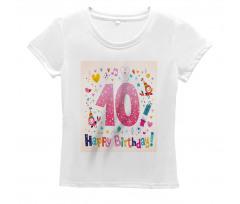 10 Years Kids Birthday Women's T-Shirt