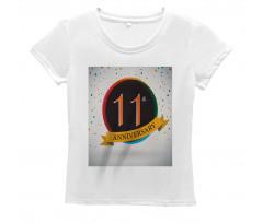 11 Year Retro Style Women's T-Shirt