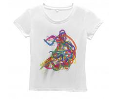 Abstract Art Dancer Women's T-Shirt