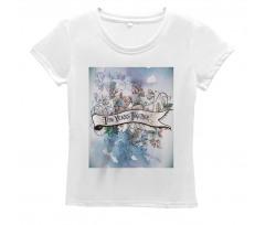 10 Years Floral Art Women's T-Shirt