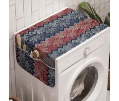 Avrupa Çamaşır Makinesi Düzenleyici Noktalarla Örülmüş Kar Tanesi Motifleri