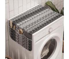Avrupa Çamaşır Makinesi Düzenleyici Akromatik Kar Tanesi ve Mistik Desenler