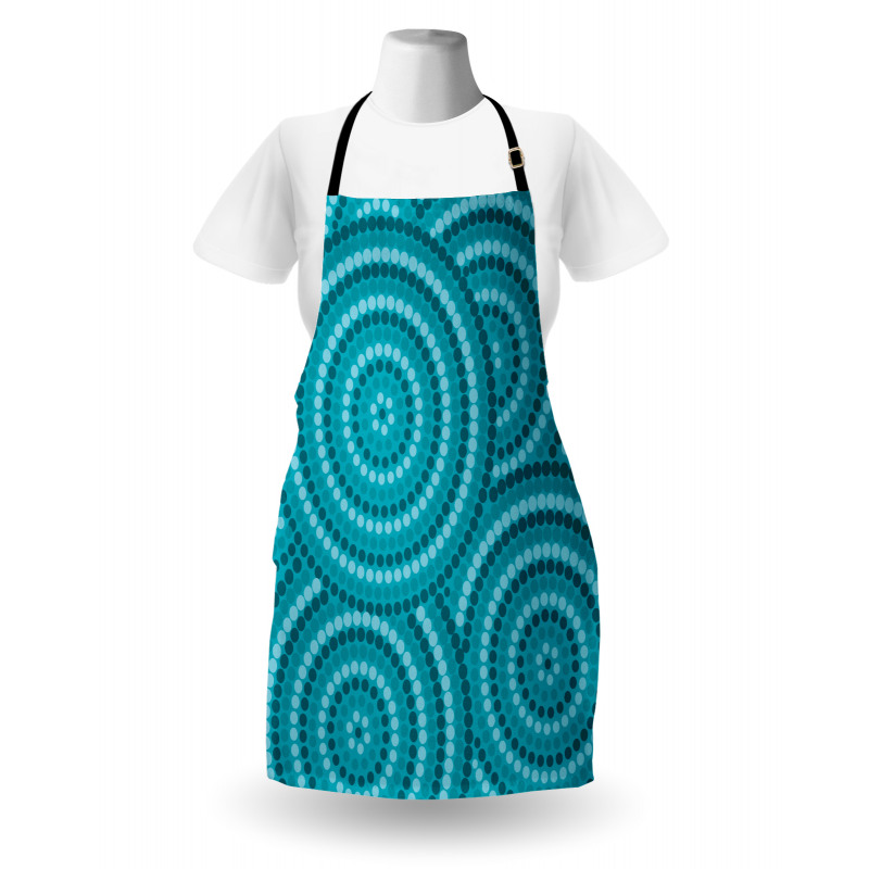 Abstract Australian Dots Apron