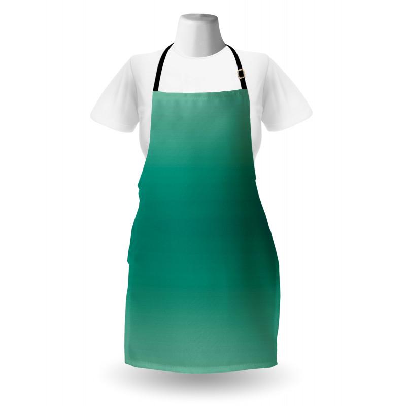 Mutfak Önlüğü Yeşilin Tonları